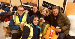 Leamington Spa's sleep out with a twist