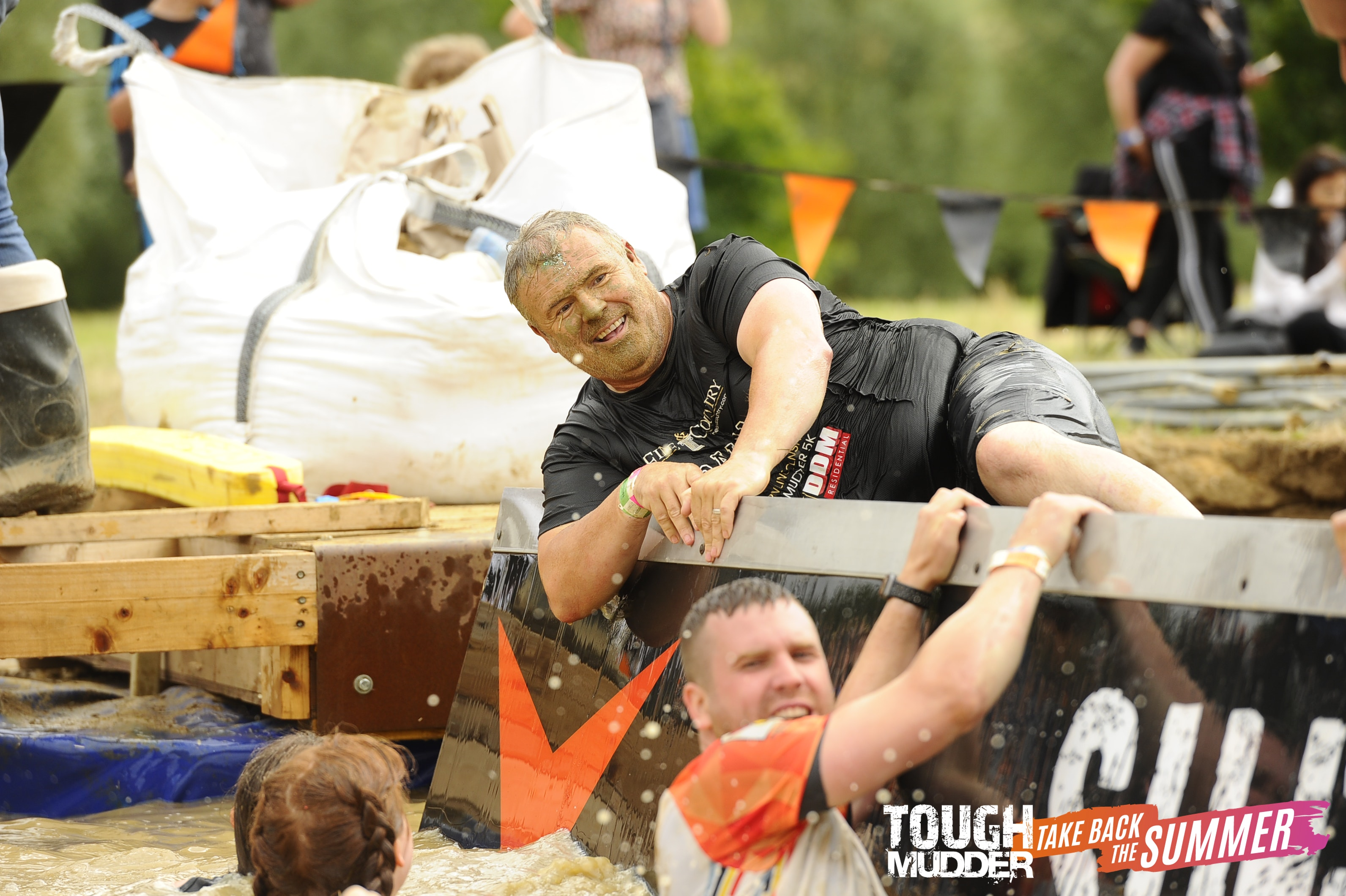 Graham Foulger from Fine & Country Northern Lincolnshire fundraising for charity at Tough Mudder