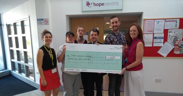Grant presentation: Northampton Hope Centre's eco dream