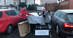 Rugby sleeps rough for Hope4 in below freezing temperatures