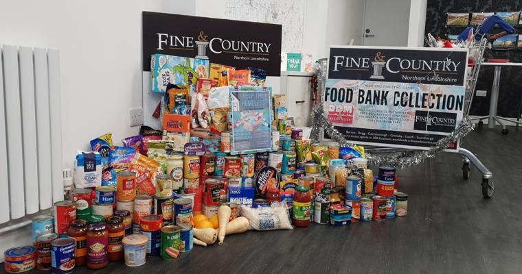 Successful delivery from food parcel challenge