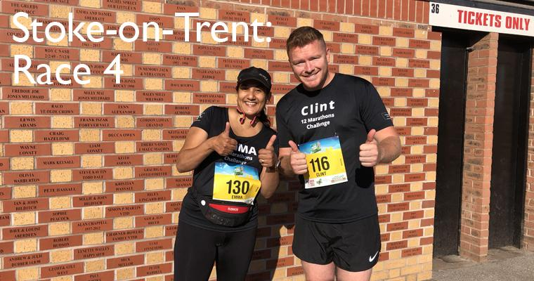 12 Marathon Challenge hits heatwave: Race four, Stoke-on-Trent