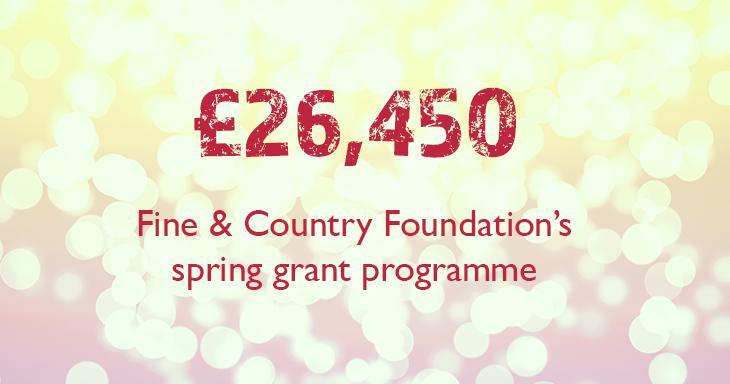 Grant Programme Donates over £26,000 in Spring 2020