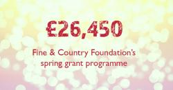 Grant Programme Donates over £26,000 in Spring 2020