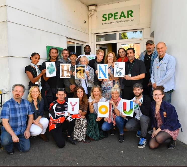 Thank you SPEAR - Poverty charity in London