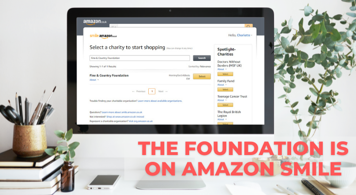 The Foundation is on AmazonSmile