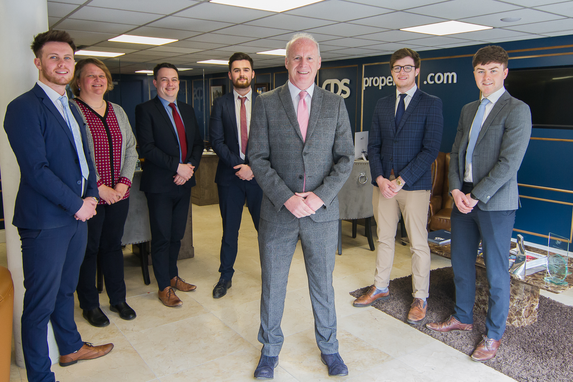Art O'Hagan and team at CPS Property in Northern Ireland
