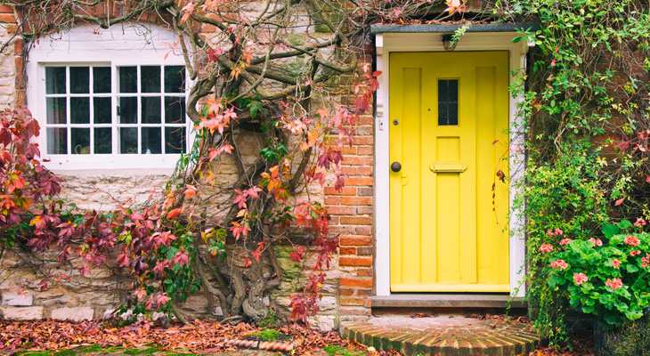 autumn_home_yellow_front_door