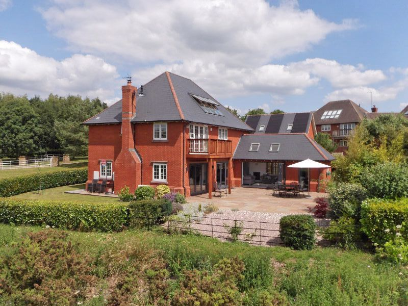 detached executive style family home in Weston Cheshire