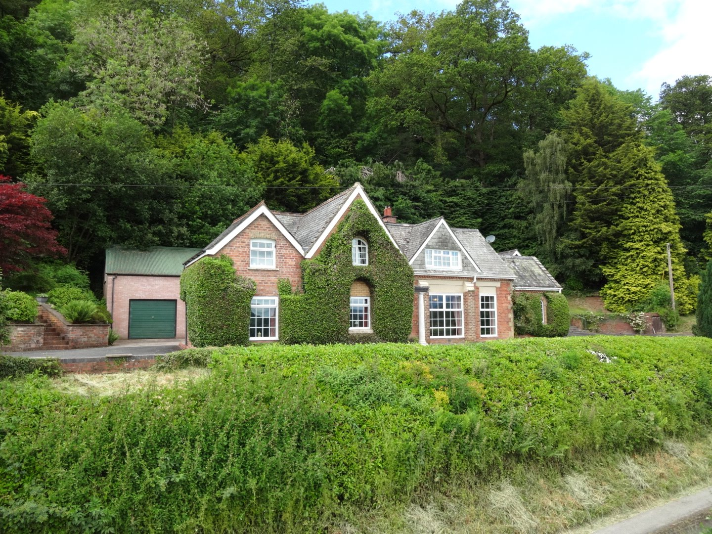 Former Schoolhouse & Chapel in Montgomery Powys Wales for sale