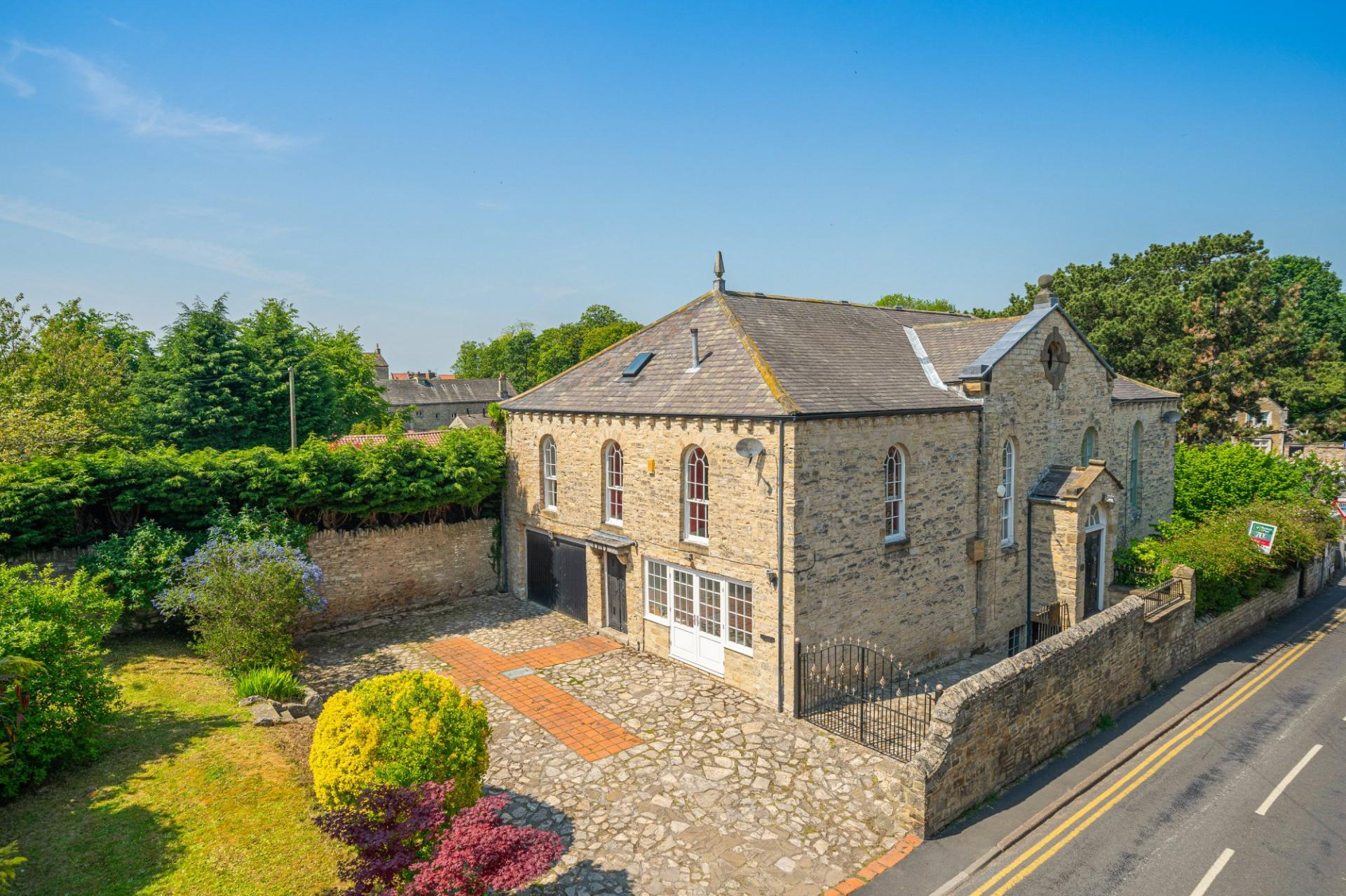 Grade II listed character property in Monk Fryston near Leeds West Yorkshire
