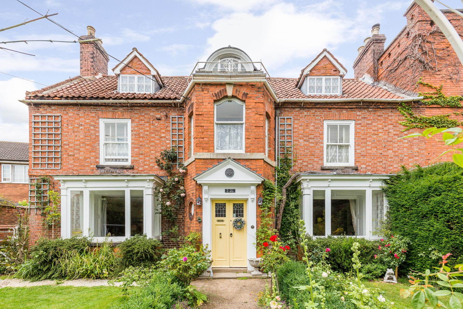 Grade II Listed historical period house in England