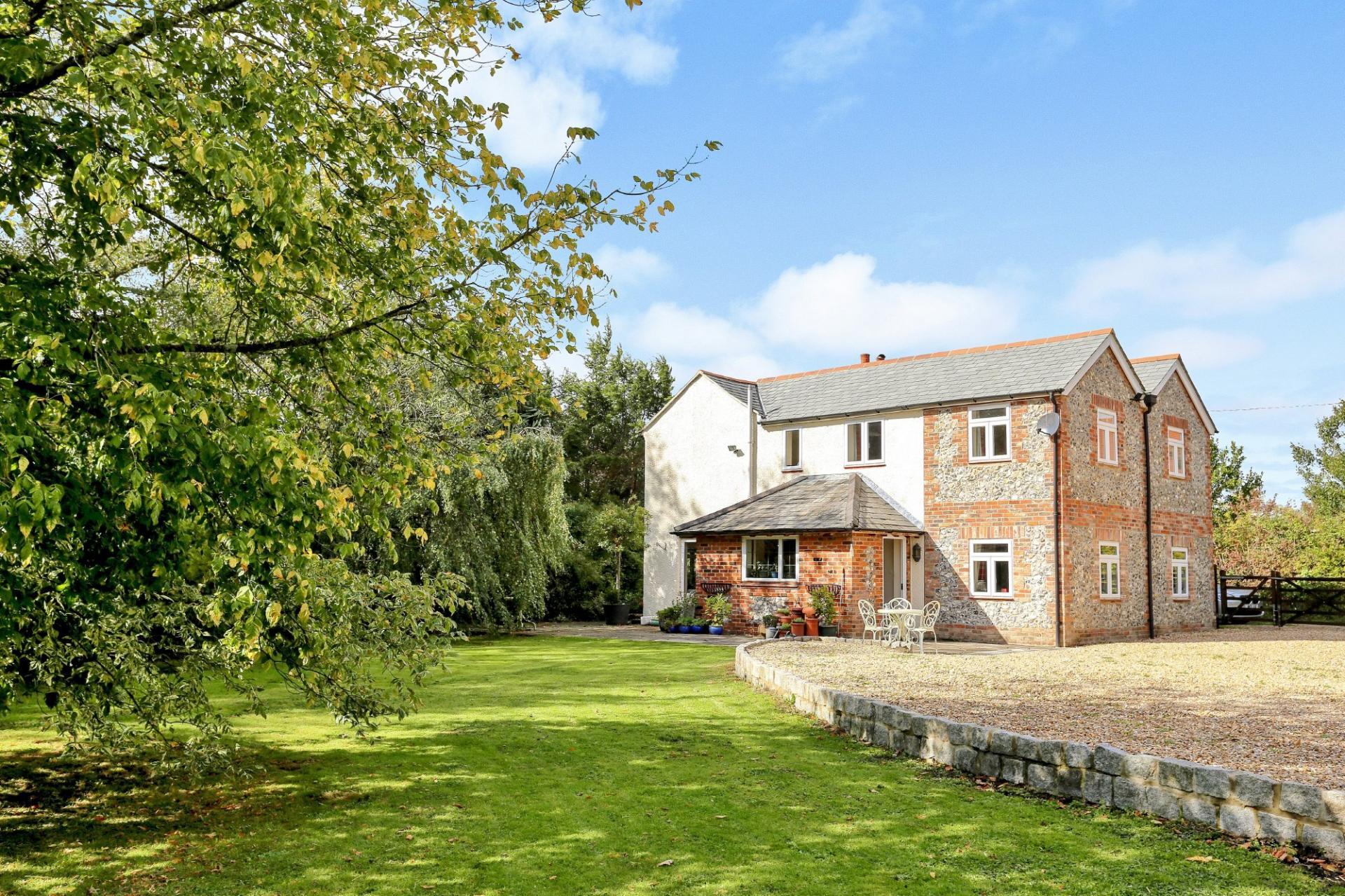 hampshire pretty stone and brick country home