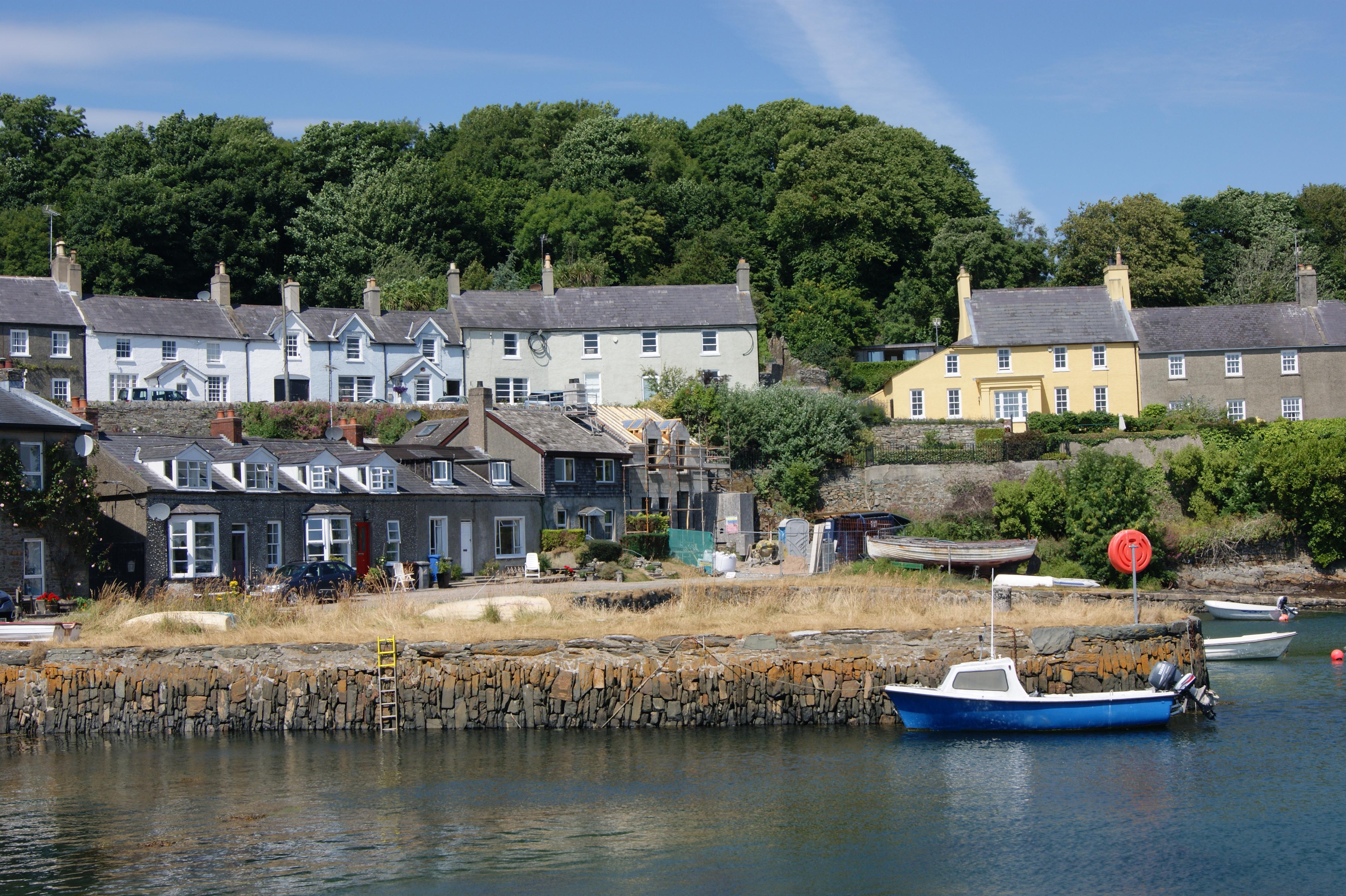 Harbourside Strangford, County Down, Northern Ireland