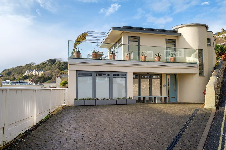 isle of wight modern art deco design villa