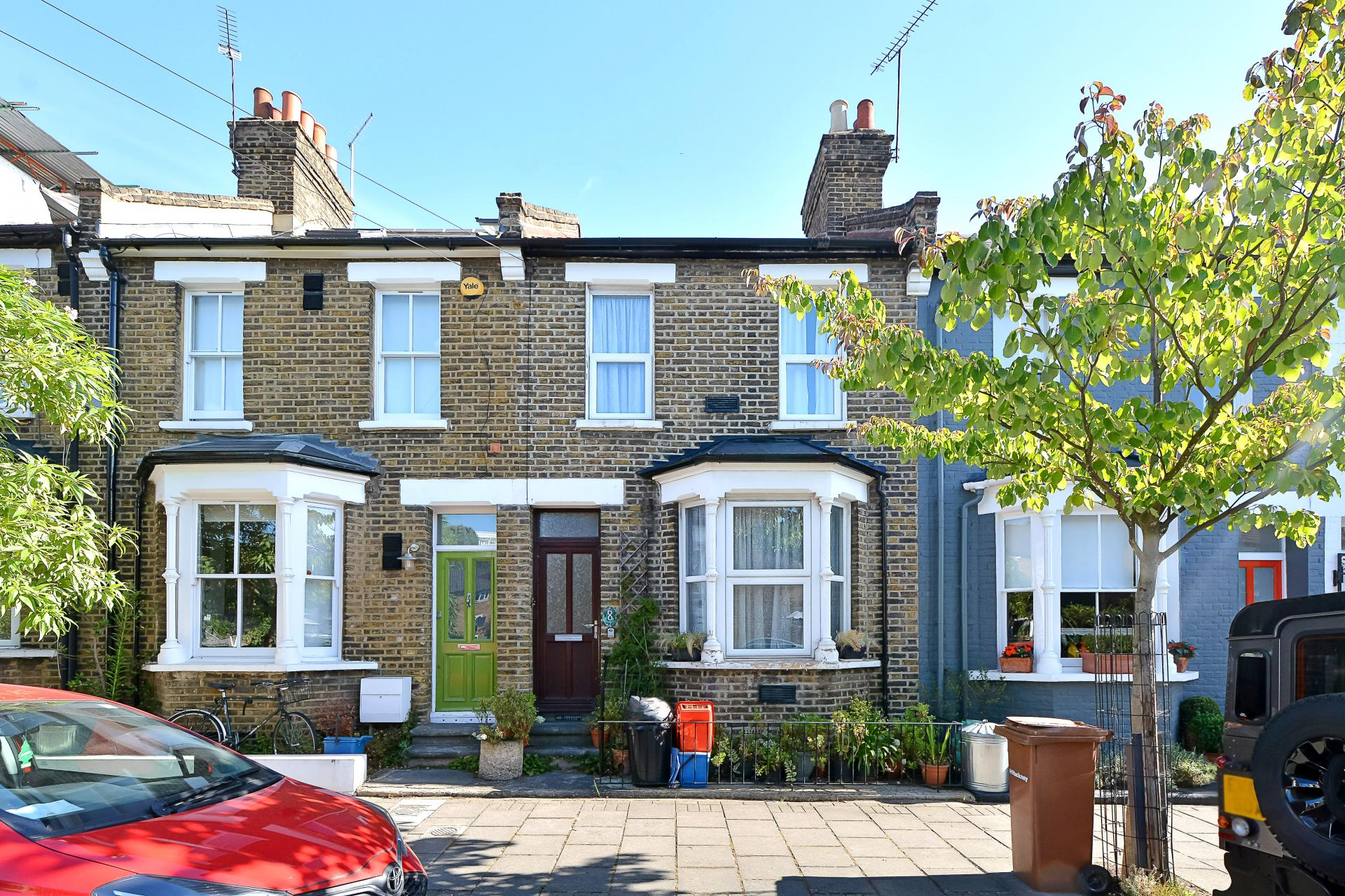 london terraced house