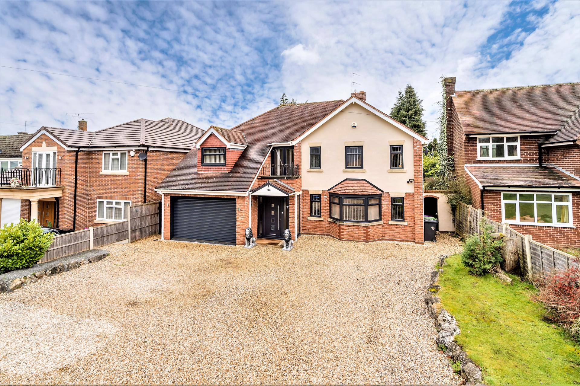 modernised large family home in Tettenhall village west midlands