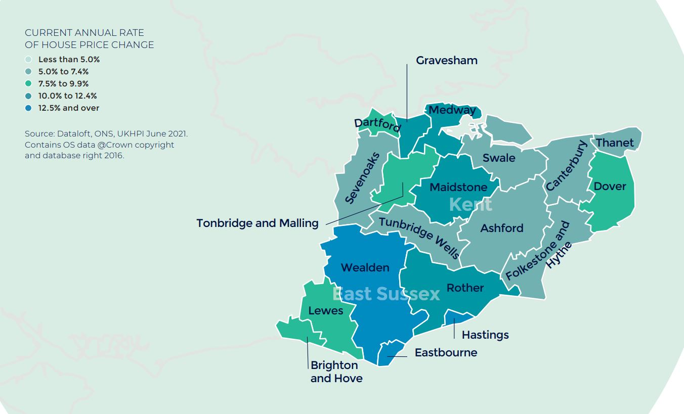 South East Home Counties Kent East Sussex Autumn regional property market report