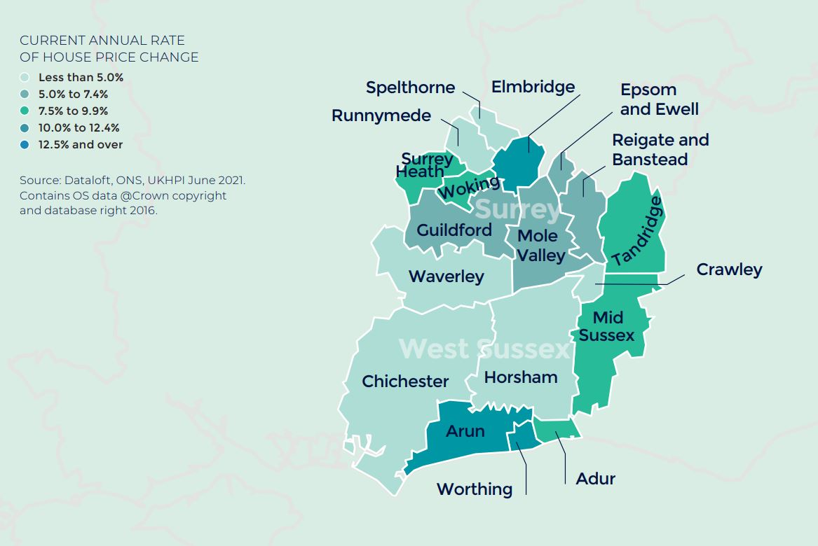 Southern Home Counties Autumn regional property market report