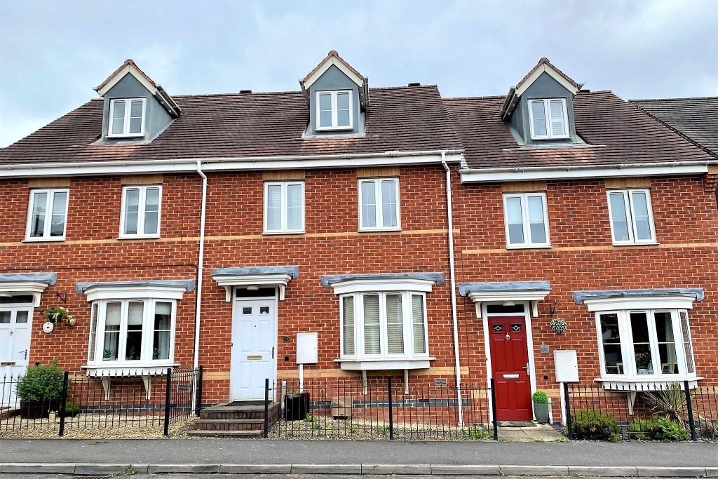 SP Sales & Lettings (Coalville) terraced new build house for sale