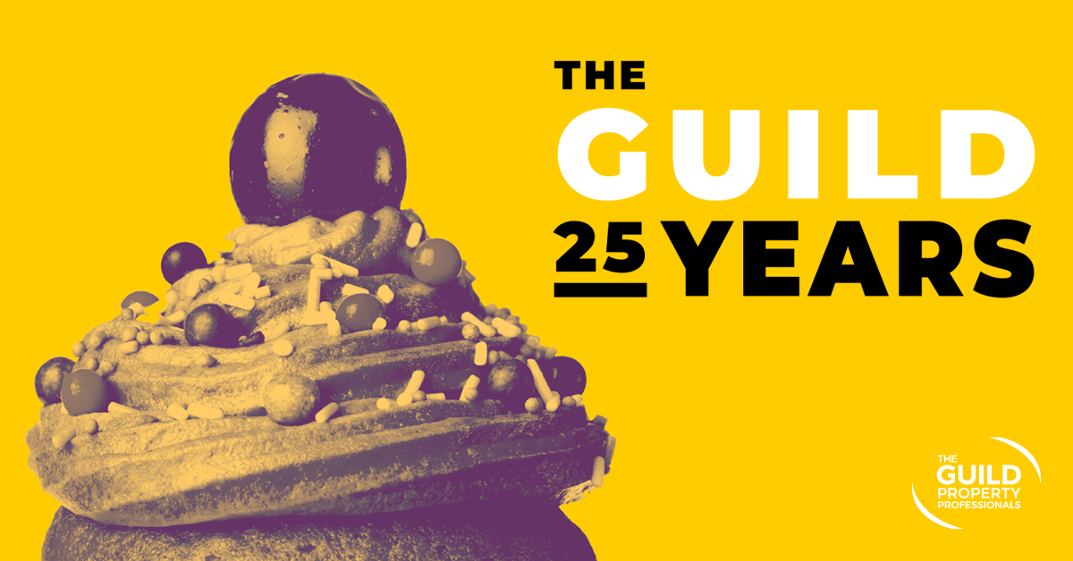 Win a birthday cake to celebrate The Guild's 25th anniversary