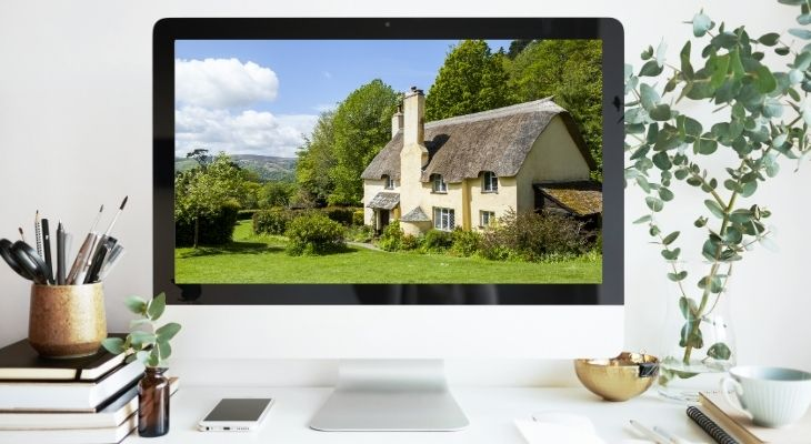 viewing_house_on_desktop_computer_remotely