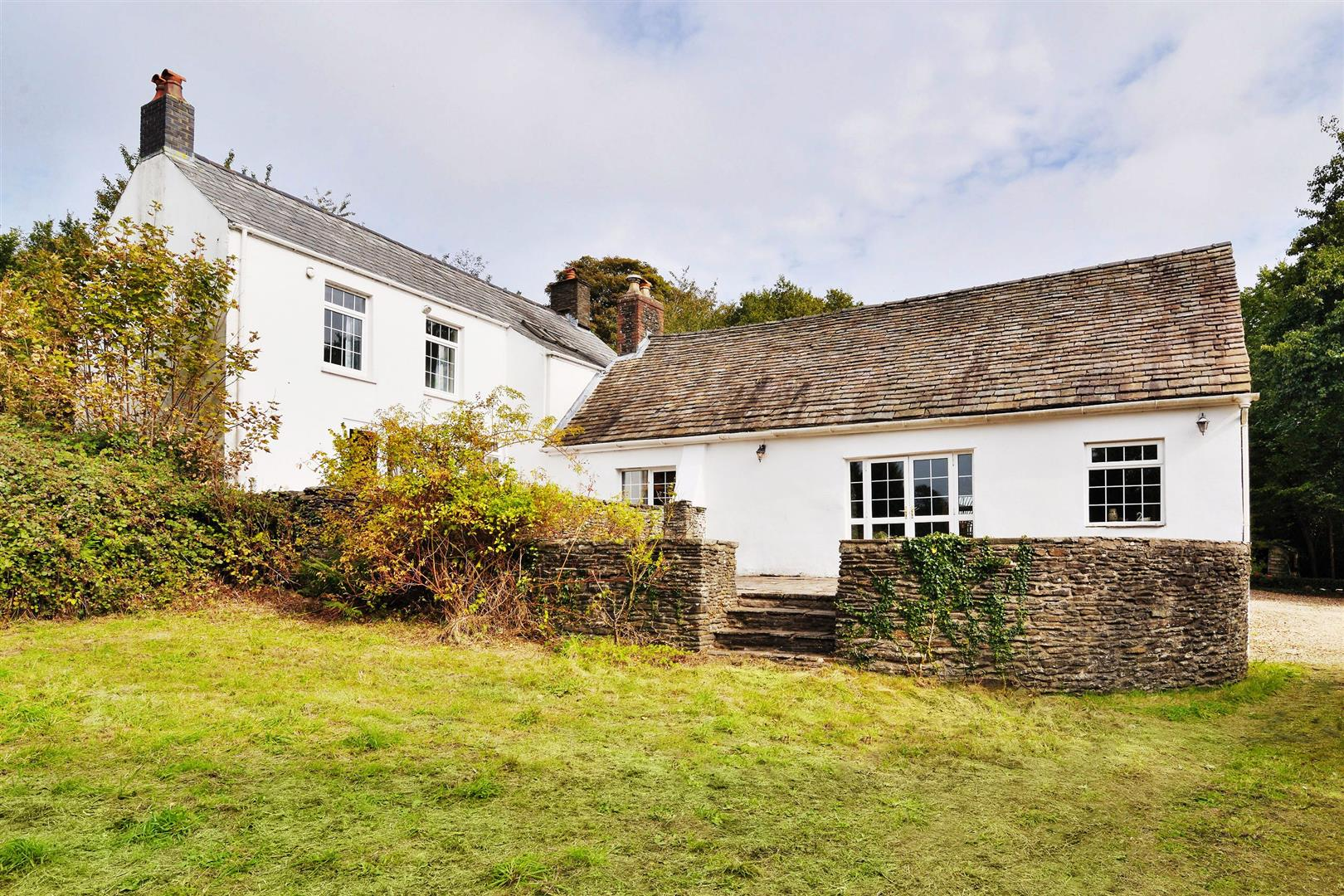 wales newport white country farmhouse