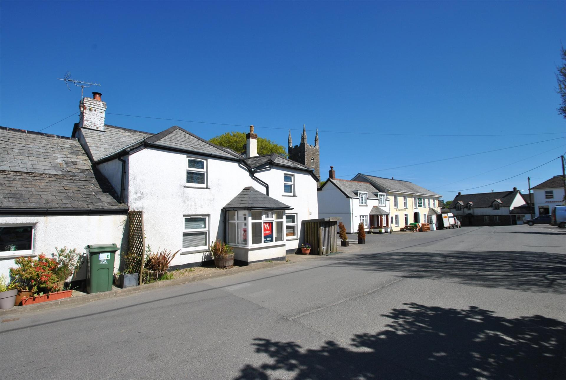 Webbers (Bude) village character house for sale