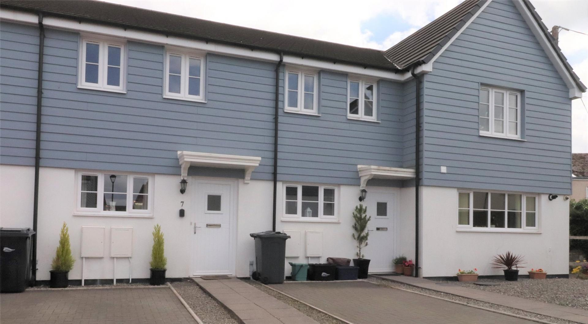 Webbers (South Molton) blue clad renovated house for sale