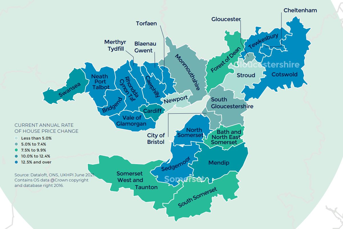 West England South Wales Autumn regional property market report