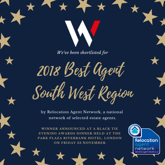 We've been shortlisted for best in region award.