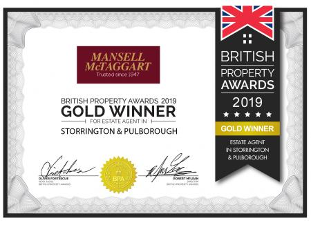 Mansell McTaggart Storrington win British Property Award