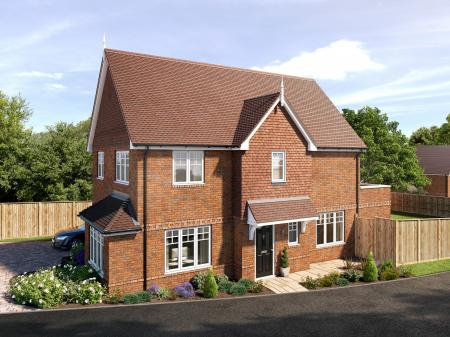 Saffron Grove - just nine detached and semi-detached properties on the edge of Crowborough