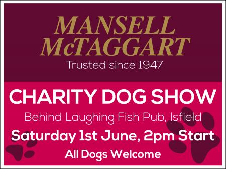 Crowborough proud to sponsor charity dog show