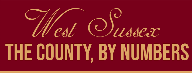 West Sussex: The County, By Numbers [Infographic]