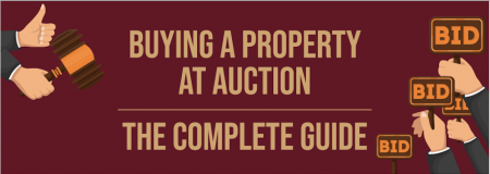 Buying a Property At Auction [Infographic]