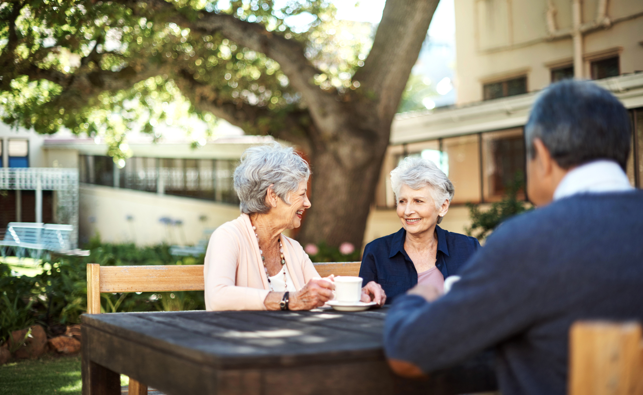 Helping elderly relatives to thrive