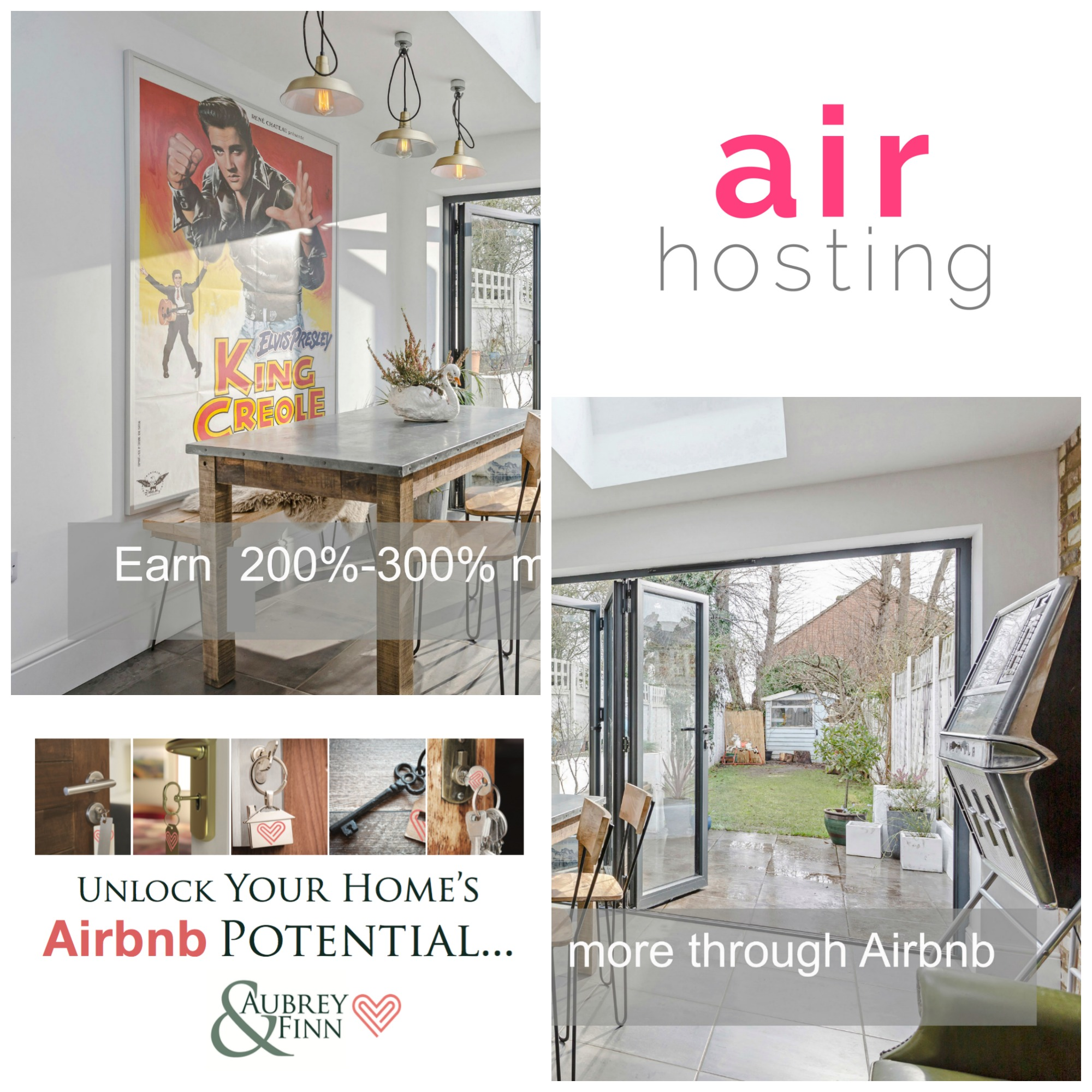 Earn money from your property with our Air Hosting Management Service!