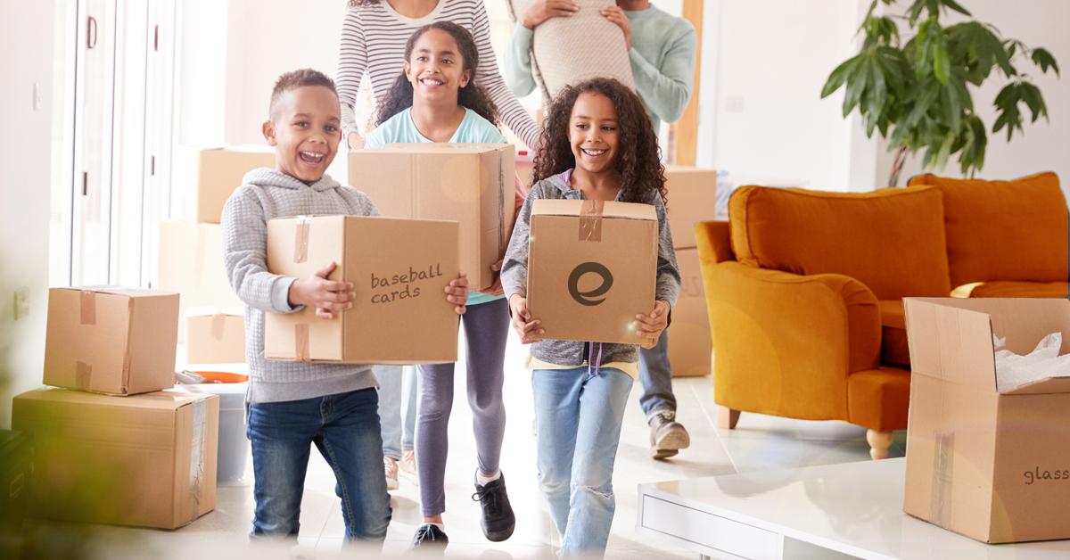 Helping Kids, Tweens & Teens to move Home