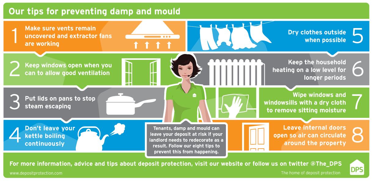 TENANTS: Don't let damp and mould get the better of you this winter!