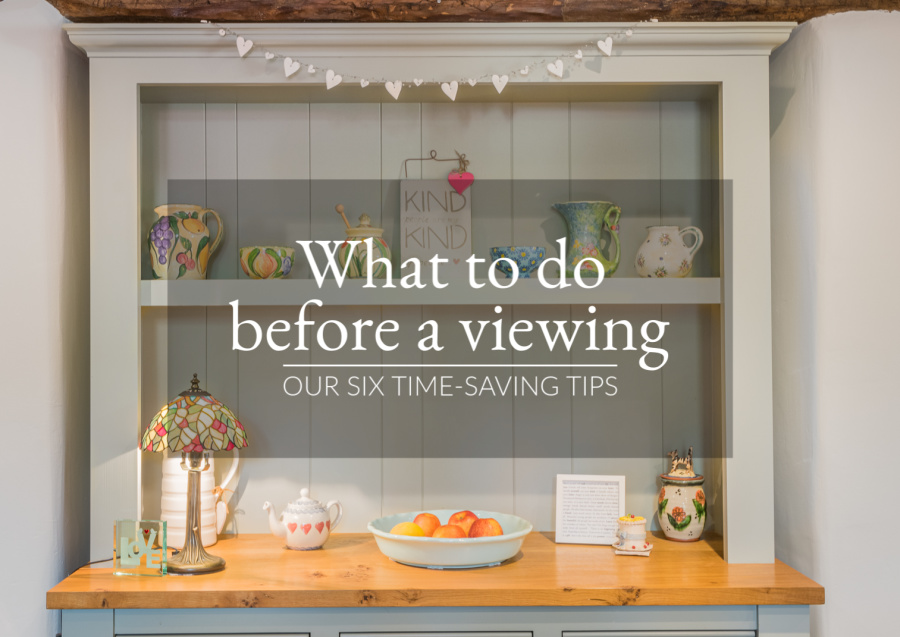WHAT TO DO BEFORE A VIEWING : Our six time-saving tips on how to prepare for viewings