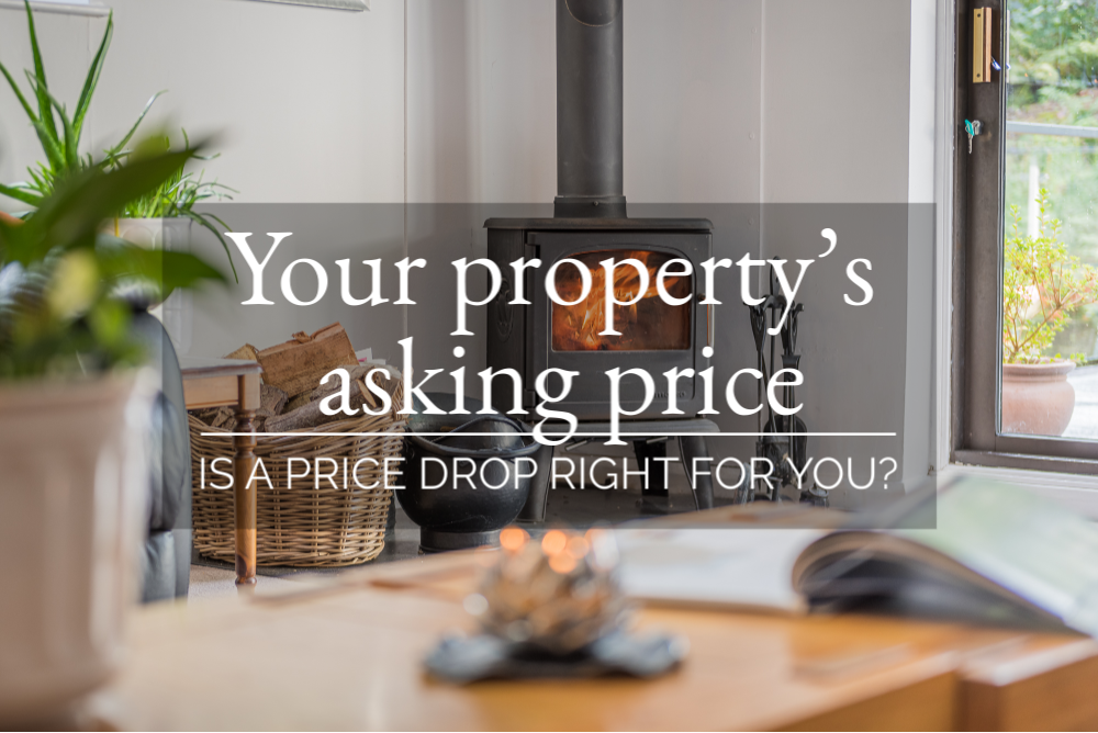 YOUR PROPERTY'S ASKING PRICE - IS A PRICE DROP RIGHT FOR YOU ?