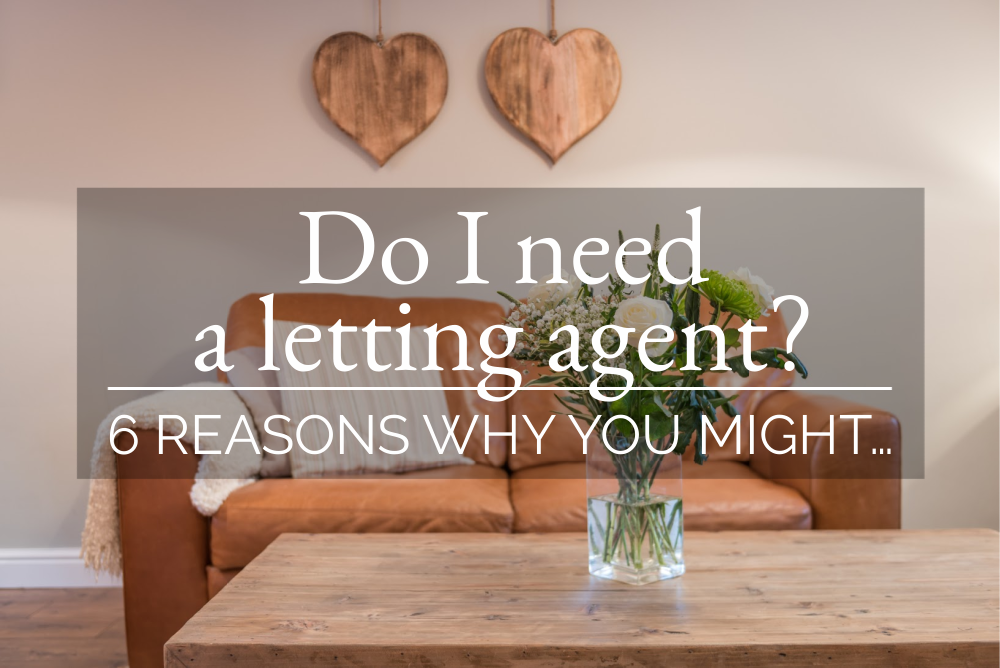 DO I NEED A LETTING AGENT ? 6 REASONS WHY YOU MIGHT ...