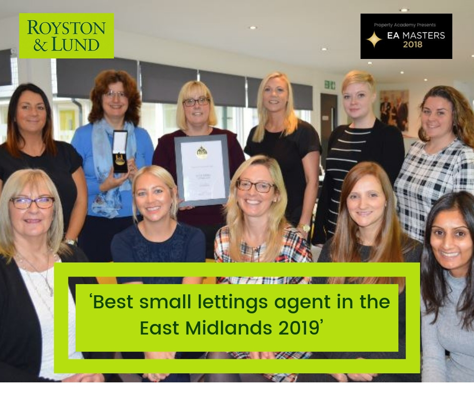 Lettings team win accolade in EA Masters 2019