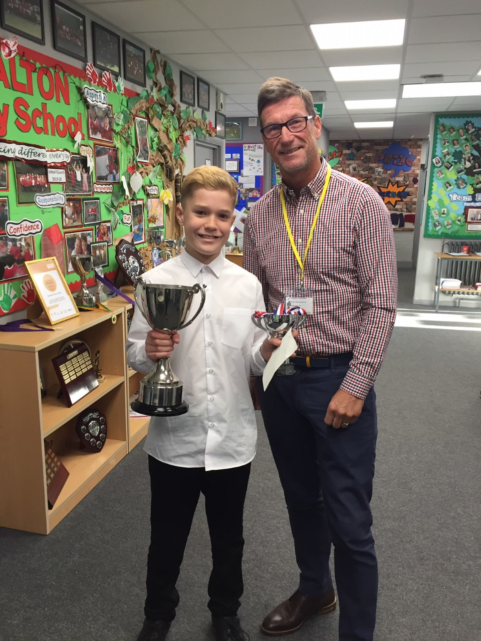 Latest R&L Sporting Achievement Award at Edwalton Primary