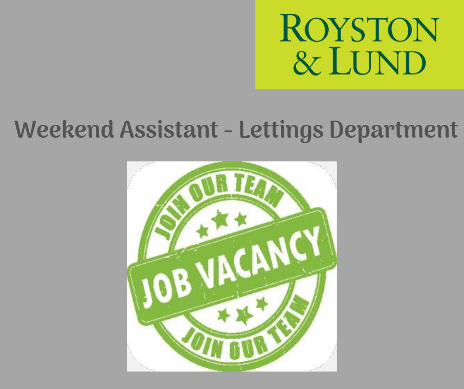 Lettings Department Job Vacancy News