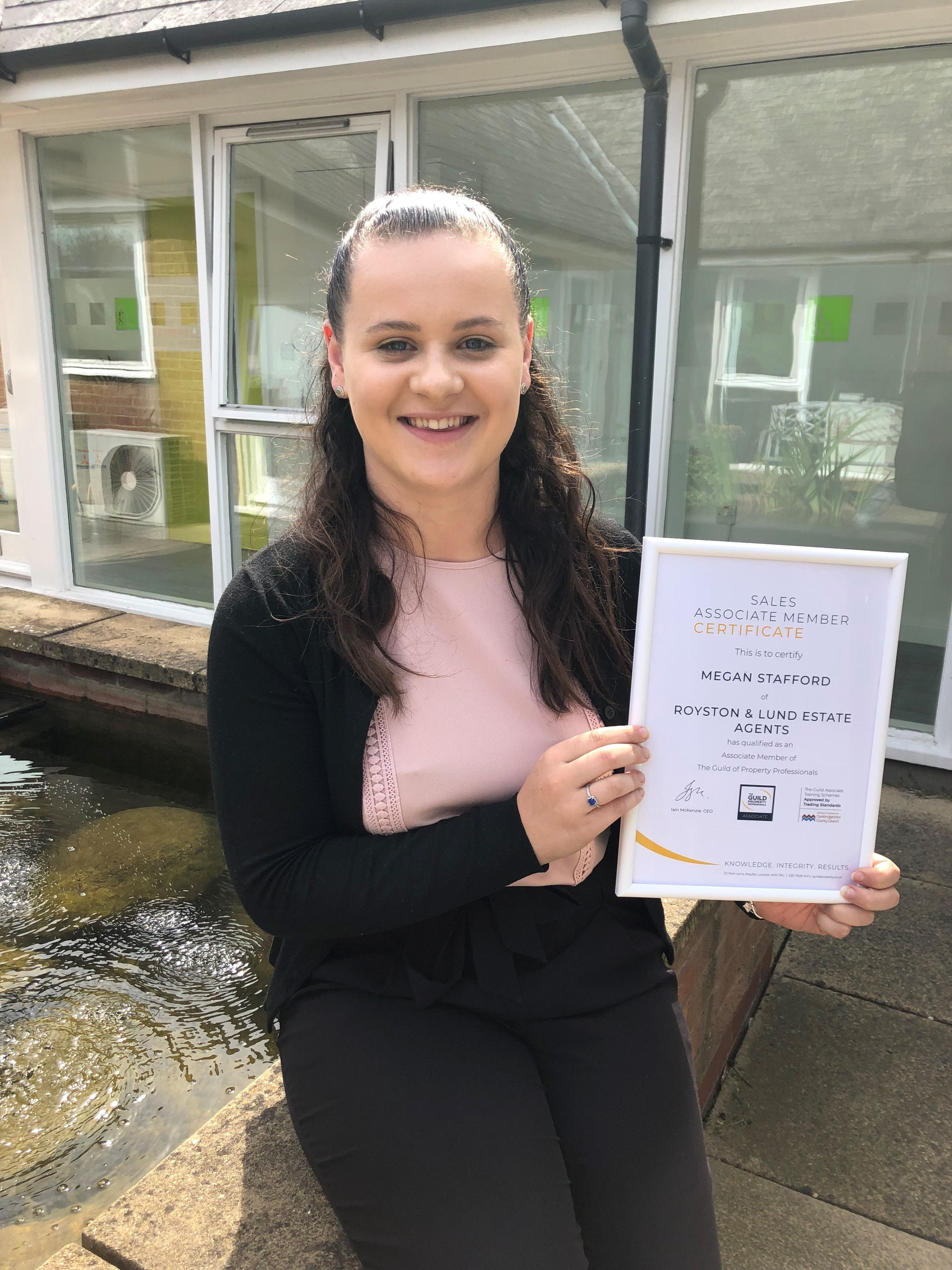 Megan Completes Apprenticeship!