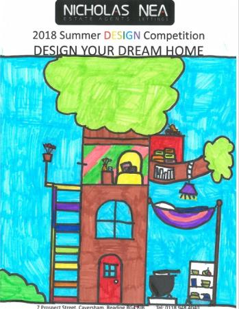 Winning designs in our summer colouring competition