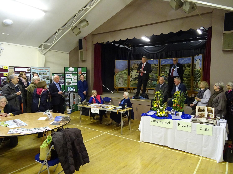 Community spirit continues at Llanymynech