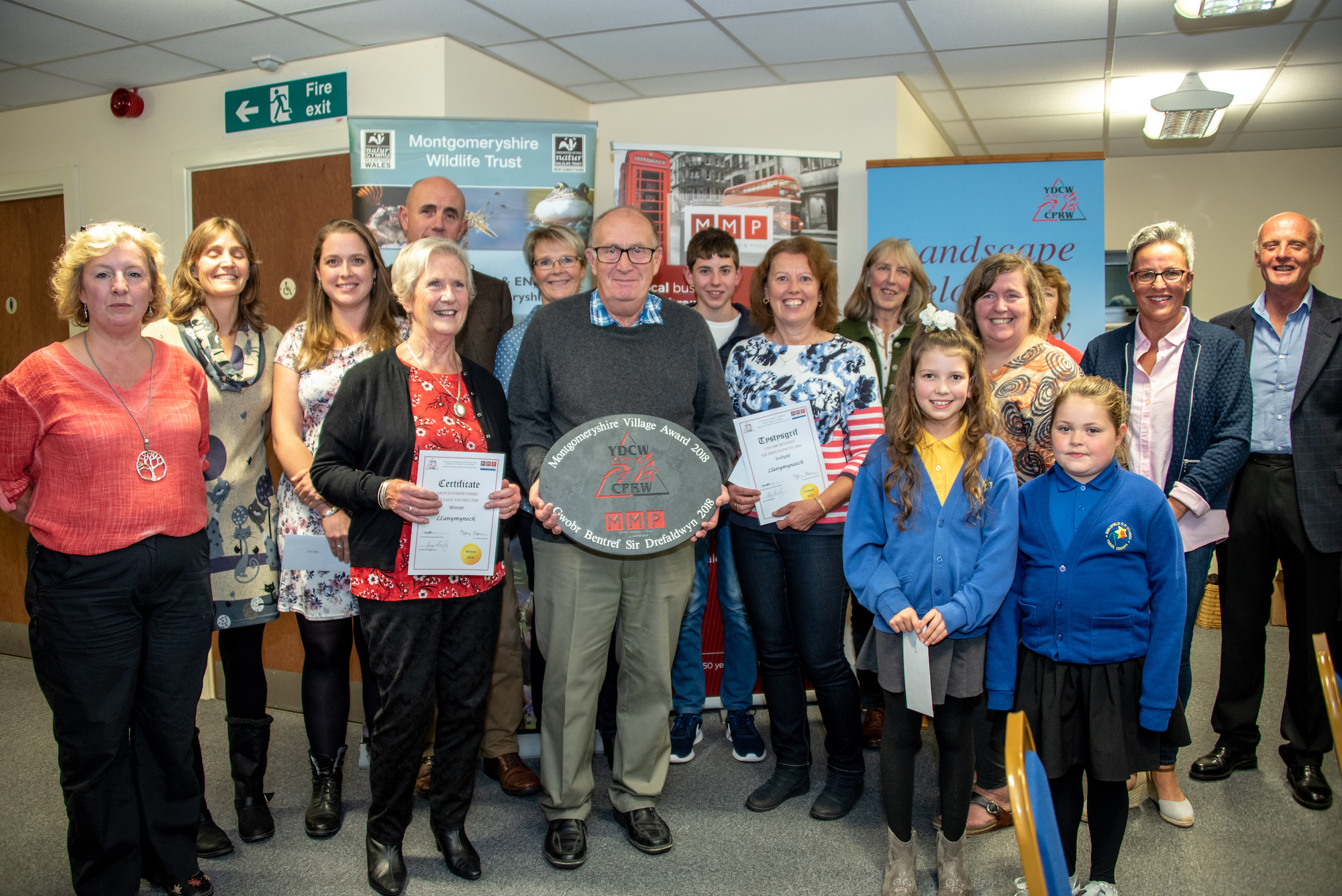 Llanymynech crowned Montgomeryshire Village of the Year